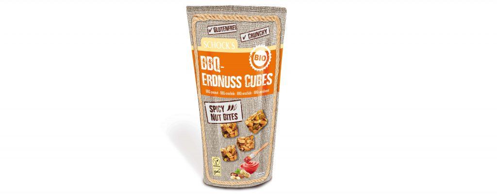 BBQ Erdnuss Cubes